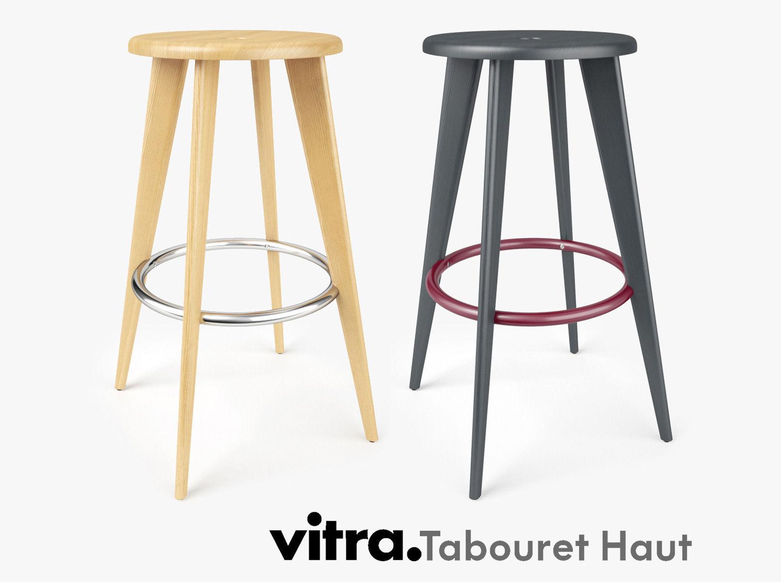 3dCgtrader Haut Bar Vitra Tabouret Stool CoBerdx