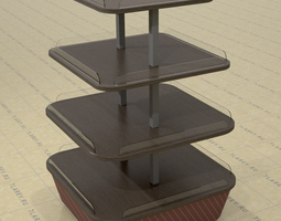 3D model Display Table