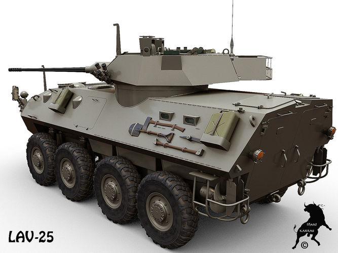 Lav 25 3d Model Max Obj Fbx Cgtrader Com