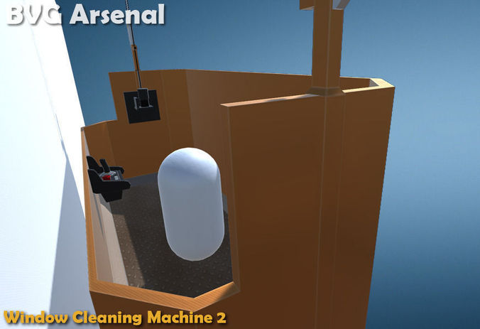 Window Cleaning Machine 2 - HQ