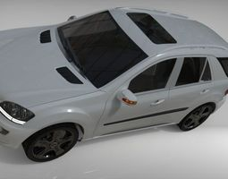 3D model MercedesML