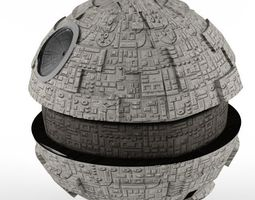 Death Star 5600 poly 3D model