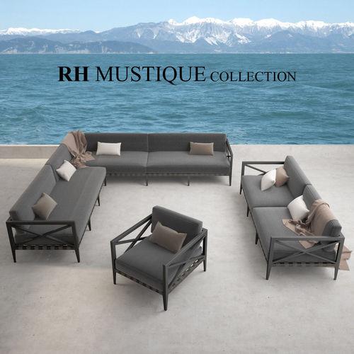 restoration hardware mustique sofa collection 3d model max obj mtl fbx 1