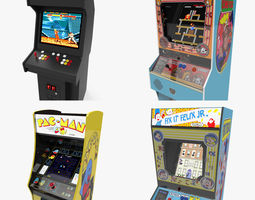 3D asset Arcade Machines