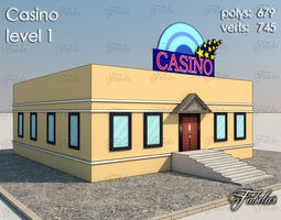 3d model Casino Level