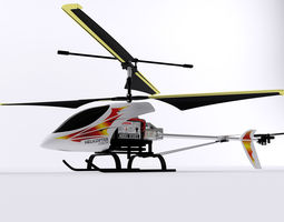 helicopter toy 3d