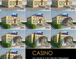 CASINO all 10 Levels 3D model
