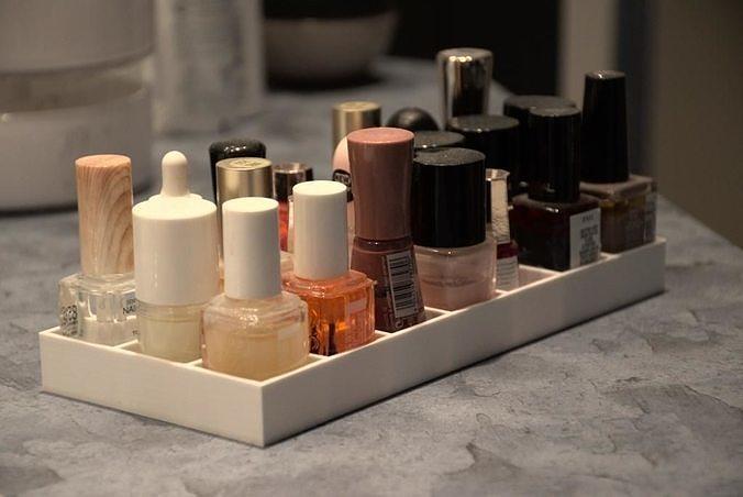 Nail polish storage box