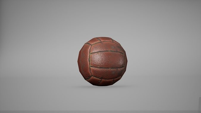 Ball Game Ready Low Poly
