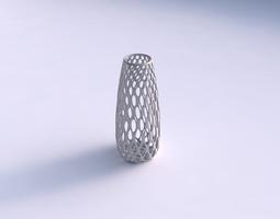 Vase Bullet with bubble grid lattice 3D Model