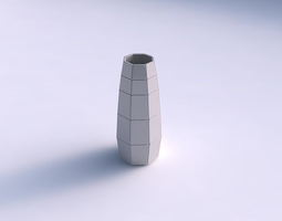 Vase Bullet with large plates 3D Model