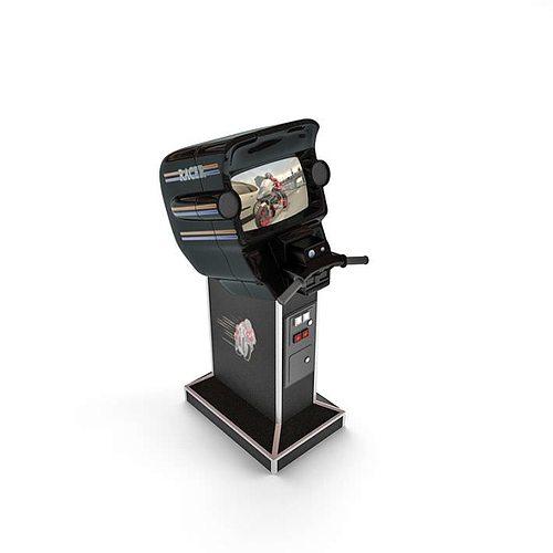 video game machine 3d model  1
