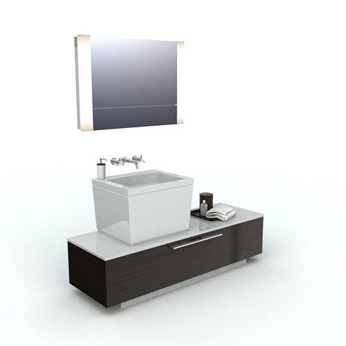 Bathroom Furniture Bathroom Sink And Cabinets 3d Model
