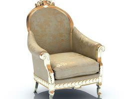 Classic Fancy Chinese Furniture 3D