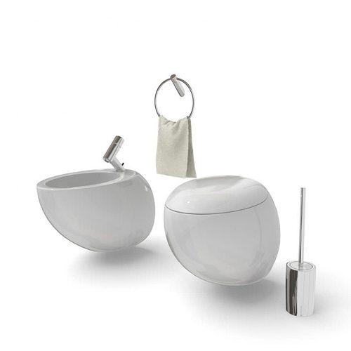 modern bathroom set 3d model  1