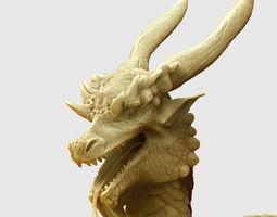 Dragon hi poly 3D model