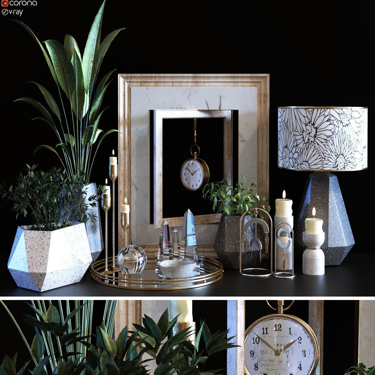 decoration object set 096