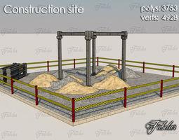 realtime 3d model construction site