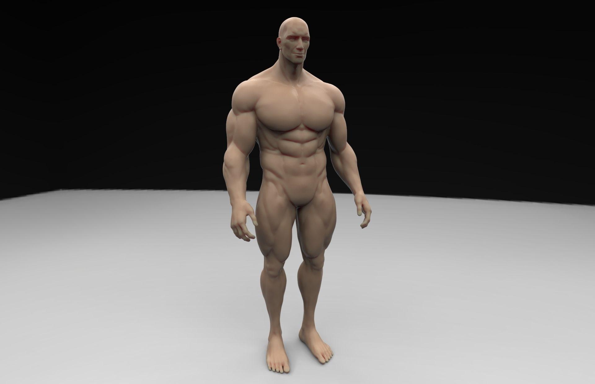 3D printable model Human Body | CGTrader