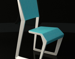 3D asset Cantilever Chair