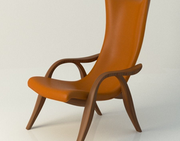 Signature chair 3D