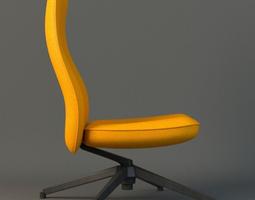 Pilot Chair knoll 3D model