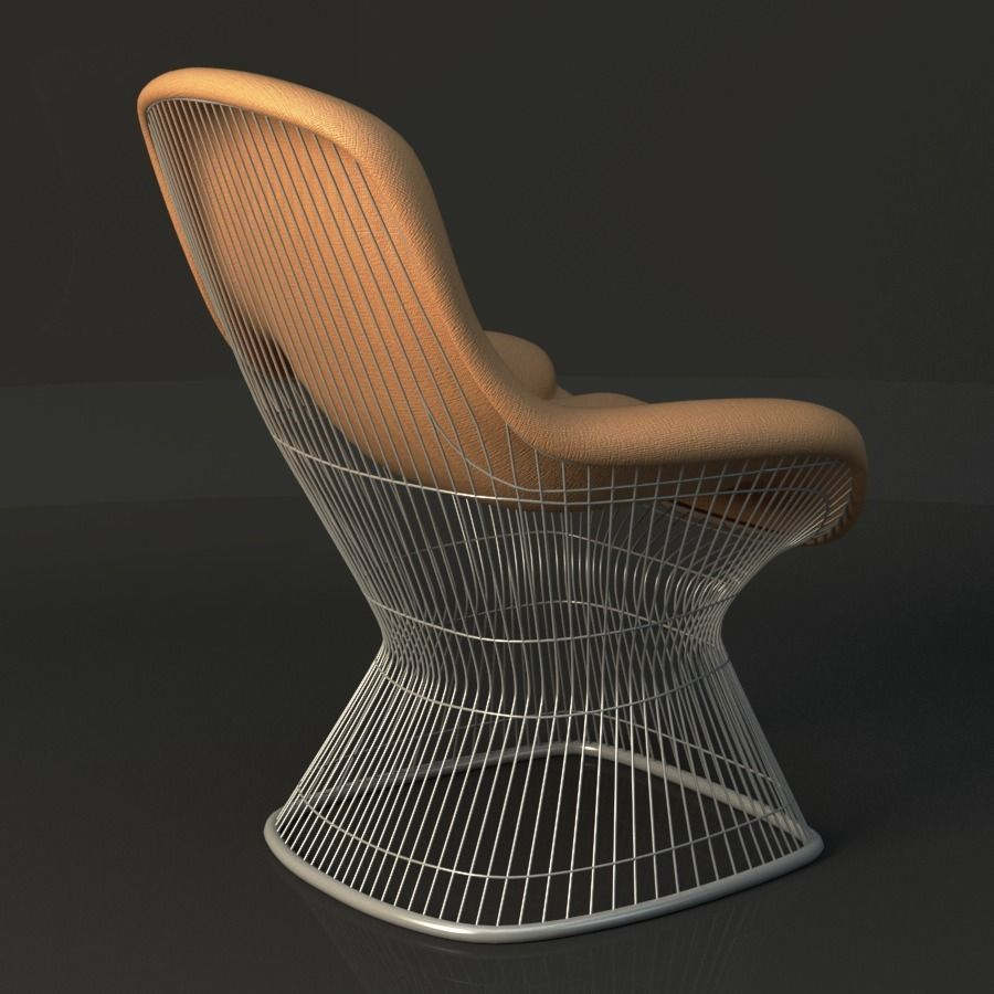 Warren Platner Lounge Chair 3d Model Cgtrader