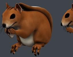 3D model Squirrel