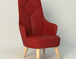 emma garsnas chair 3D model