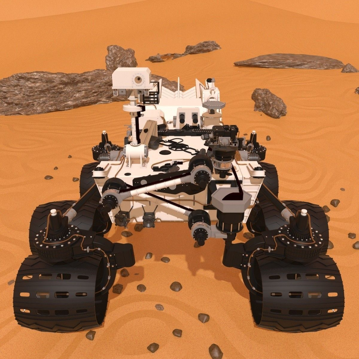 curiosity rover scale model - photo #15