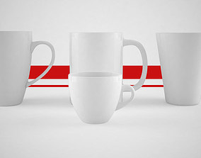 beverage 3D Coffee mug cups and espresso cup