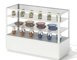 Glass Display Shelf 3D
