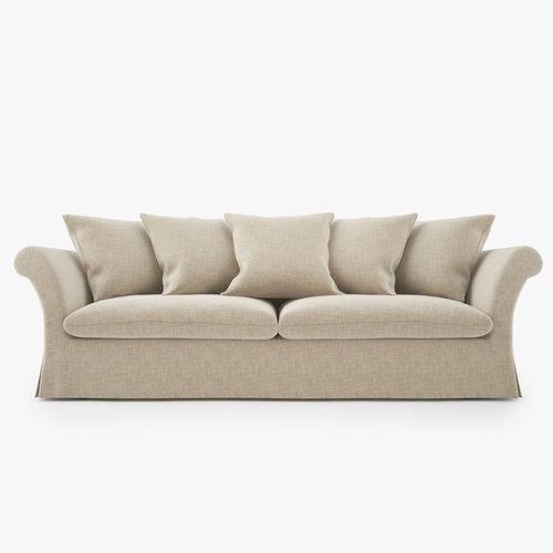 Busnelli Kim Sofa Couch 3D Model