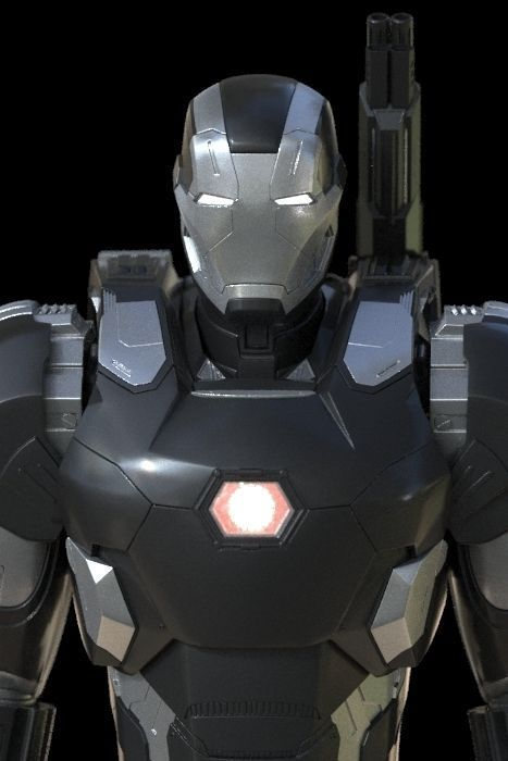 war machine 3d model