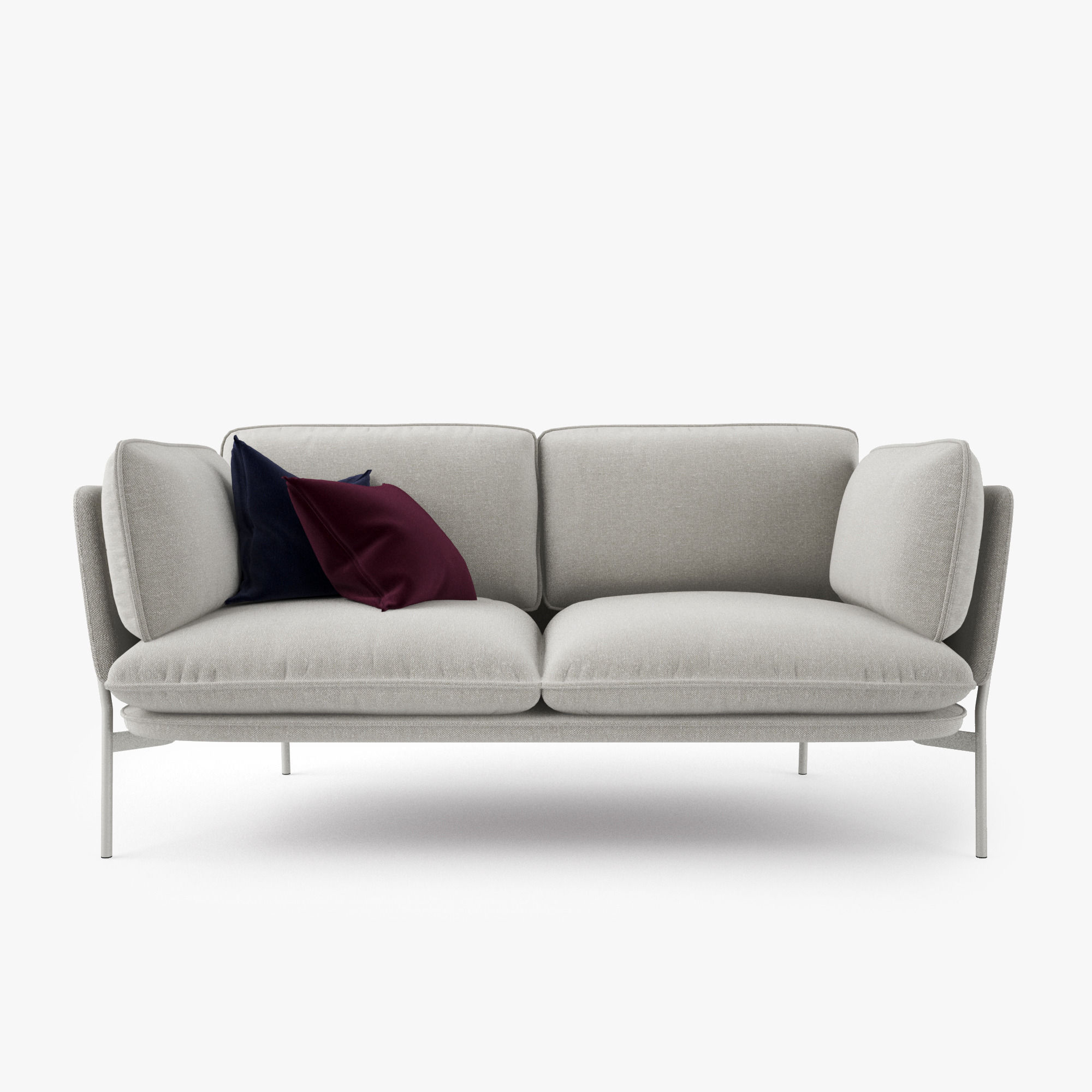 3D model And Tradition Cloud Two Seater Sofa