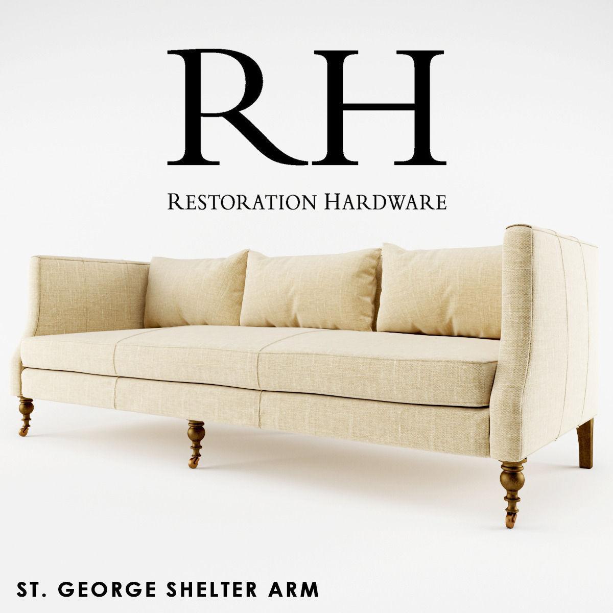 Rh   St George Shelter Arm 3d Model Max Obj Mat 1 ...