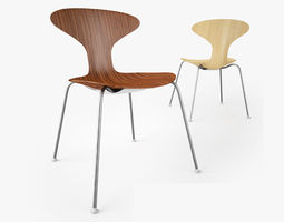 3D model Bernhardt Design Orbit Wood Chair