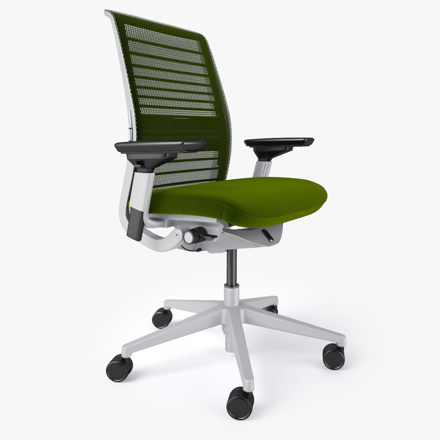 steelcase think office chair. Steelcase Think Office Chair 3d Model Max Obj Fbx Mtl 5