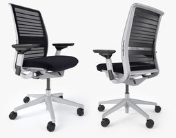 Steelcase Think Office Chair 3D