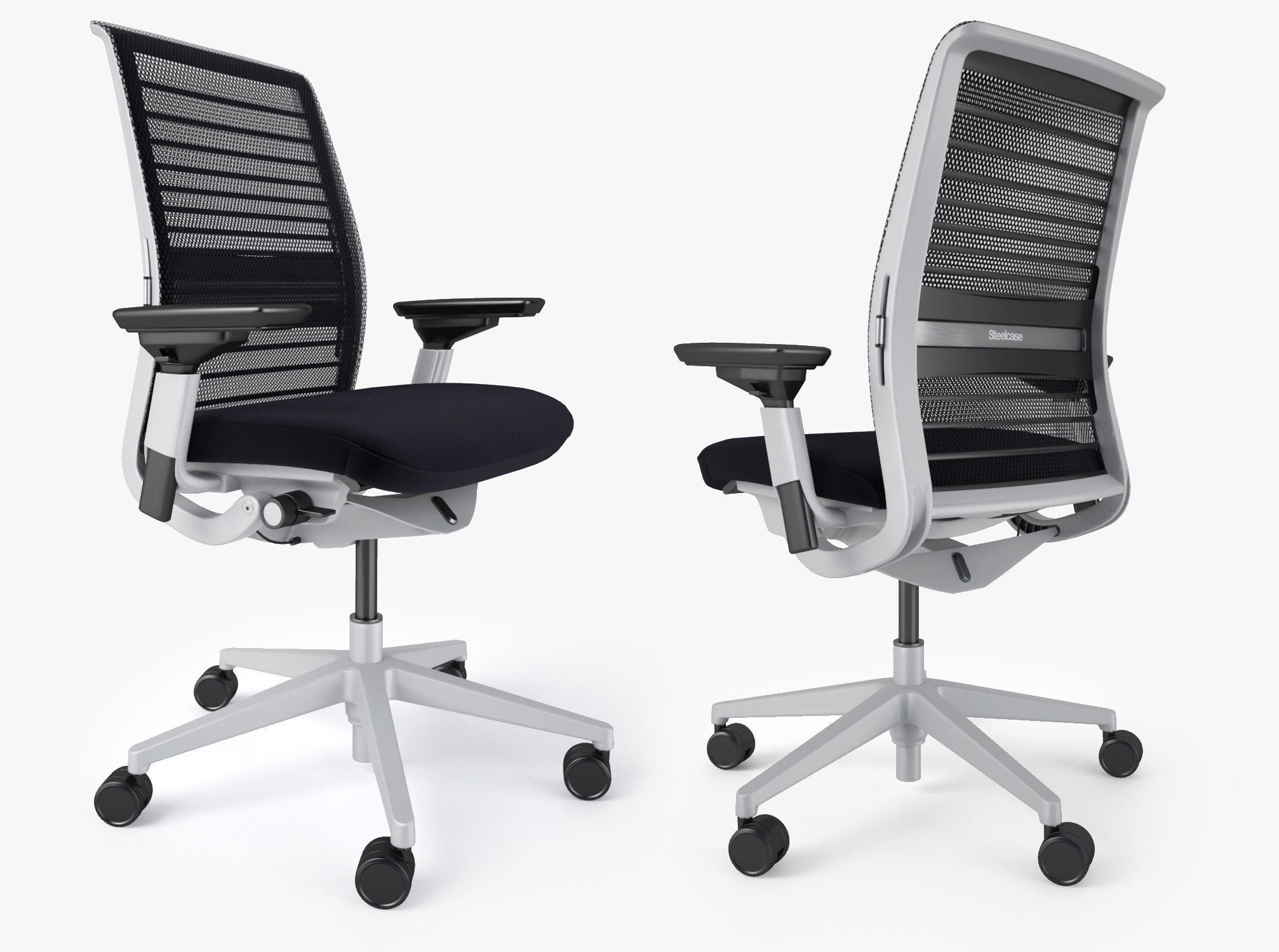 Steelcase Think fice Chair 3D