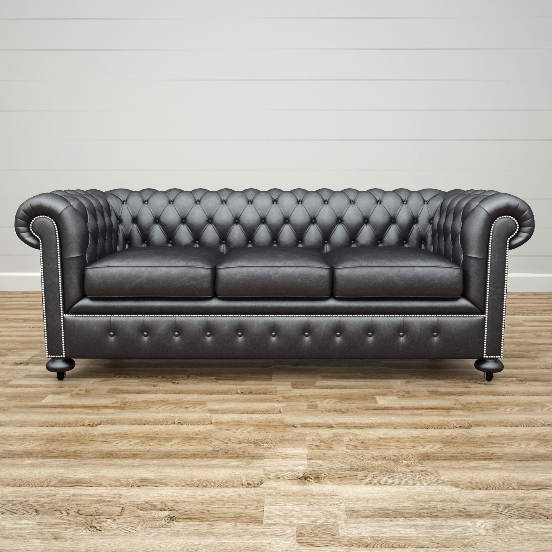 3D William Blake Chesterfield Sofa