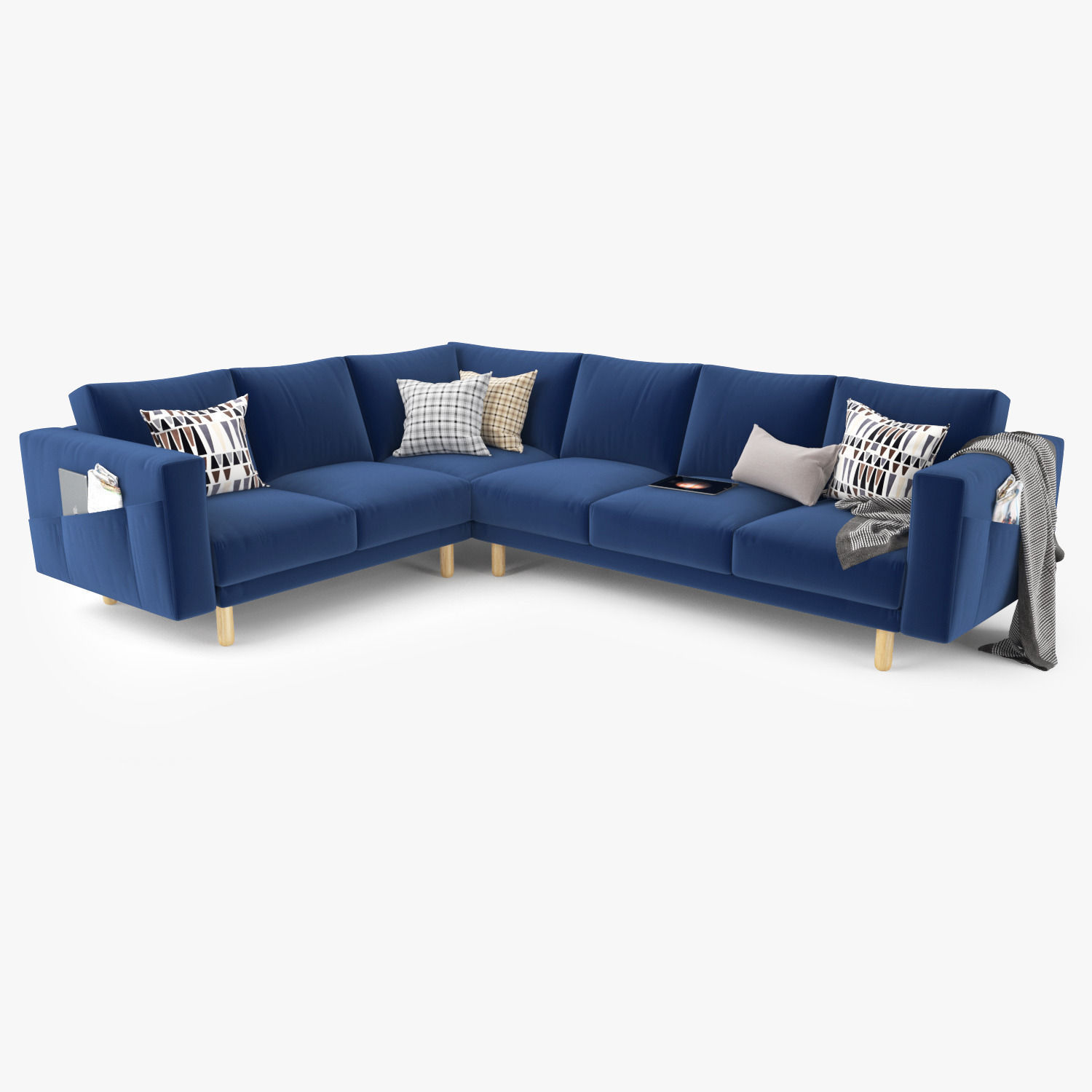 Modern Sectional Sofa 3D