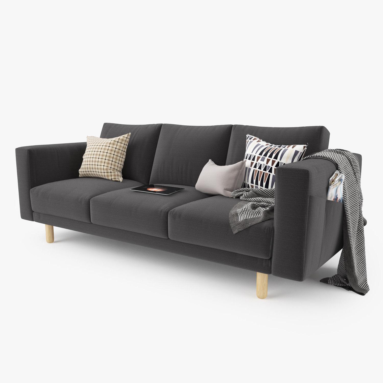 Modern Sofa Set 01 3D model MAX OBJ FBX MTL