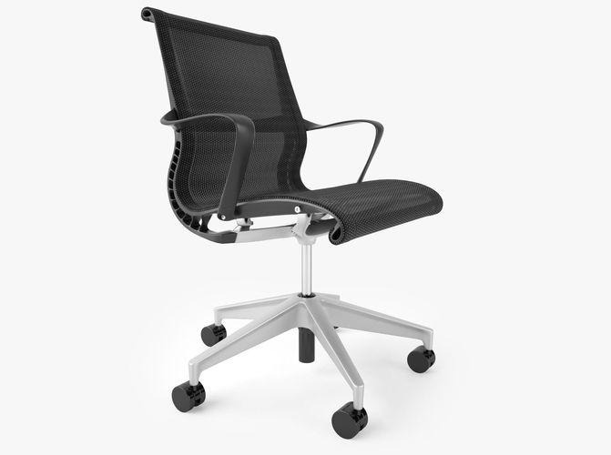 3d model herman miller setu office chair cgtrader