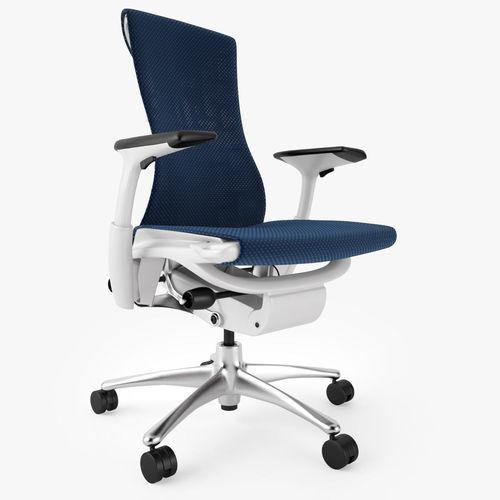 herman miller embody office chair 3d model max obj fbx mtl 4