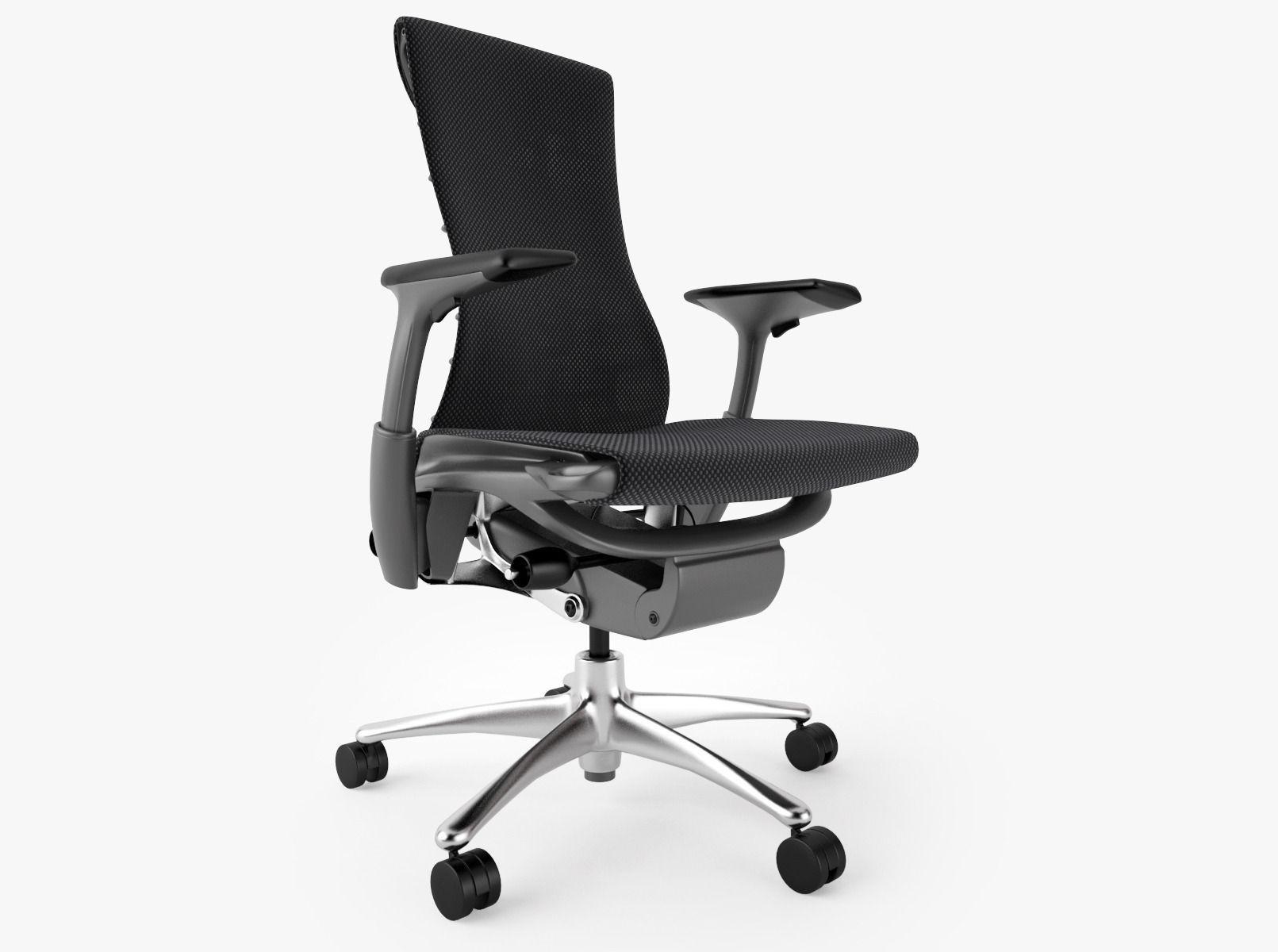 herman miller office chair. 3D Model Herman Miller Embody Office Chair I