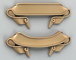 Decorative Ribbon 006 3D