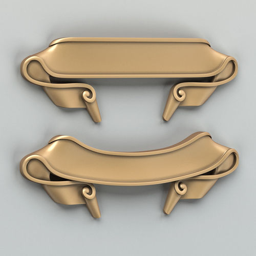 decorative ribbon 006 3d model max obj fbx stl 1
