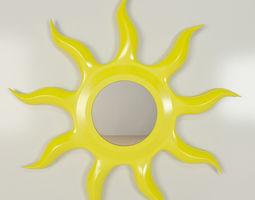 3D model Sun Mirror Childrens
