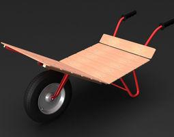 wheelbarrow2 3d model max